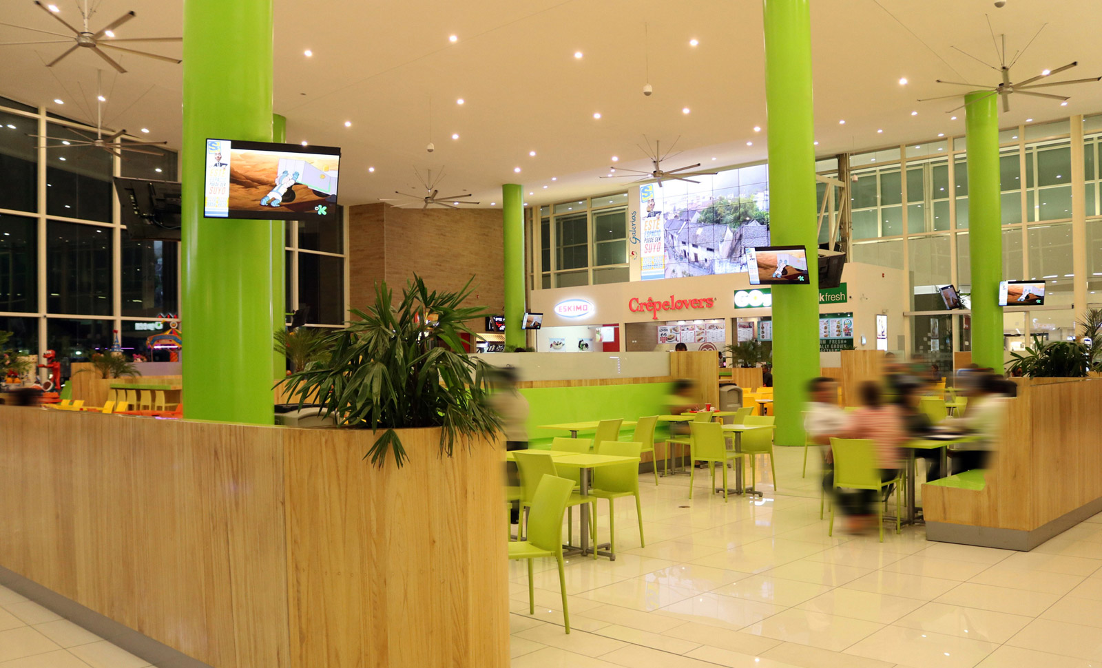Centro comercial galerias santo domingo 2c estudio - Galeria comercial ...